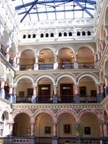 Rochester City Hall Atrium