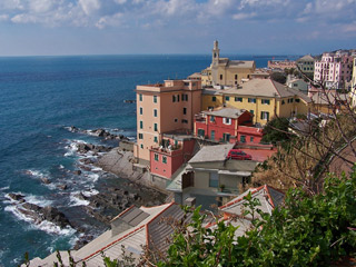 Boccadasse, the old fishing village
