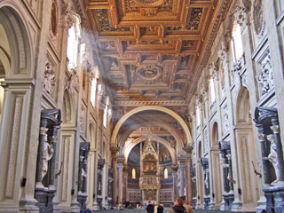 Central nave - San Giovanni in Rome