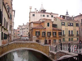Canals and bridges of Venice