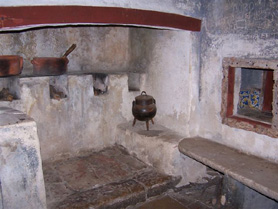 Kitchen in Capuchos Convent - Sintra, Portugal